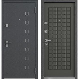 Входная стальная дверь Mastino Area/Terra Дуб графит