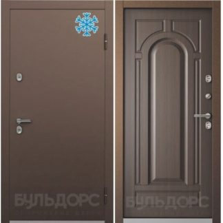 Стальная дверь с терморазрывом Бульдорс TERMO-1 Ларче темный