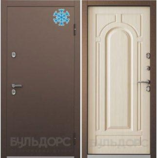 Стальная дверь с терморазрывом Бульдорс TERMO-2 Белый перламутр