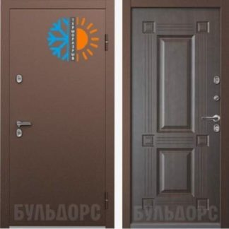 Входная дверь Бульдорс TERMO-2 Венге конго