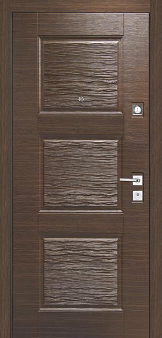 Входная дверь Mastino Line-3/Monte Темный венге/Светлый венге
