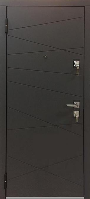 Входная дверь Mastino Monte Графит софт