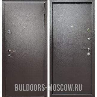 Купить стальную входную дверь Бульдорс Econom Steel Букле шоколад