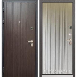 Входная стальная дверь Бульдорс PREMIUM-90 Ларче темный 9Р-131/Ларче бьянко 9P-131