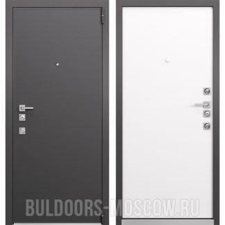 Входная дверь Mastino Forte Конструктор MS-100 Графит горизонт/MS-100 Молочный горизонт