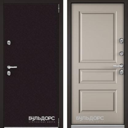 Стальная дверь с терморазрывом Бульдорс TERMO-3 Горячий шоколад/Кремовый ликер TD-2.3