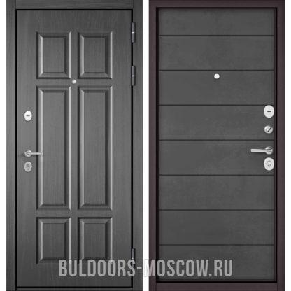 Входная металлическая дверь Бульдорс Mass-90 Бетон темный 9S-109/Бетон темный 9S-135