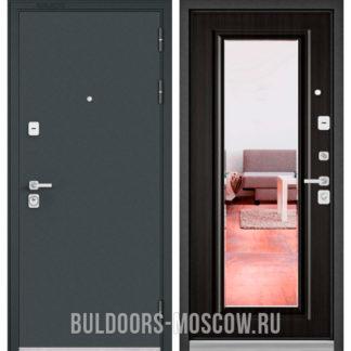 Входная дверь Бульдорс PREMIUM-90 Черный шелк/Ларче темный 9P-140