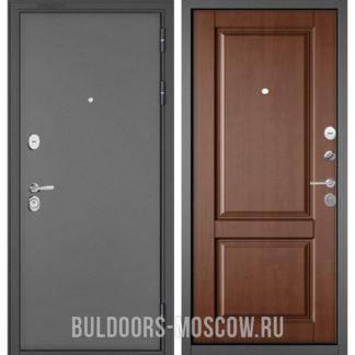 Входная дверь Бульдорс Стандарт-90 Букле графит/Карамель 9SD-1