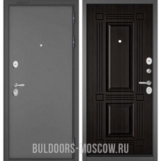 Входная дверь Бульдорс Стандарт-90 Букле графит/Ларче темный 9S-104